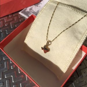 James Avery Gold Texas necklace 20""